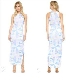 Mara Hoffman Fractals Column Maxi Dress Medium